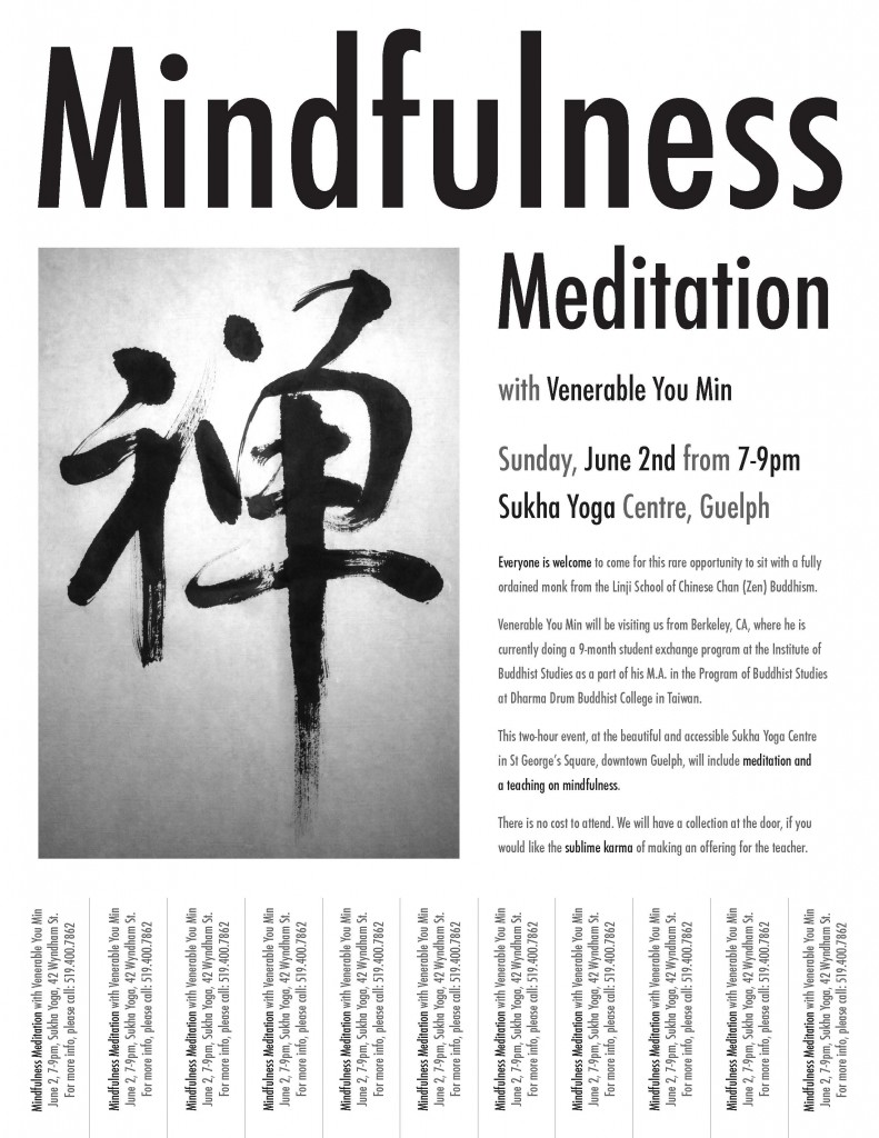 Mindfulness Meditation June 2 2013