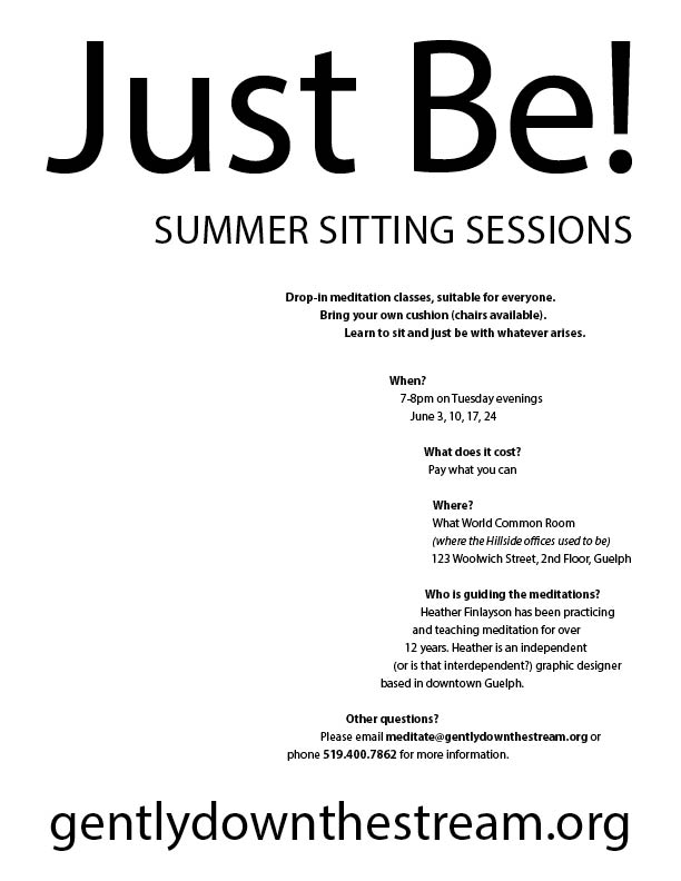 Just Be! Poster v5