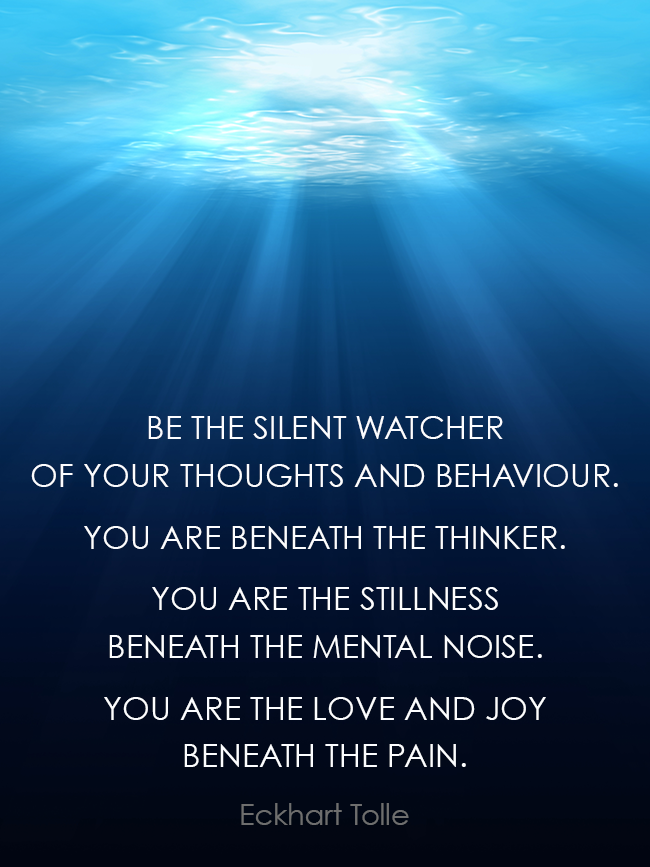 Be the silent watcher