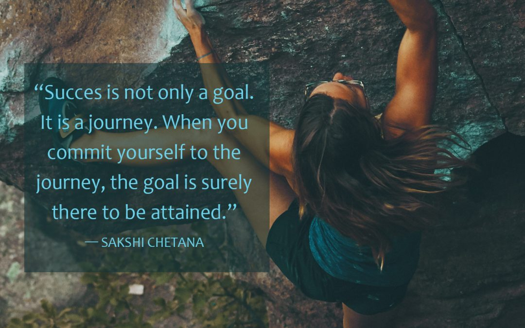 Commit yourself to the journey
