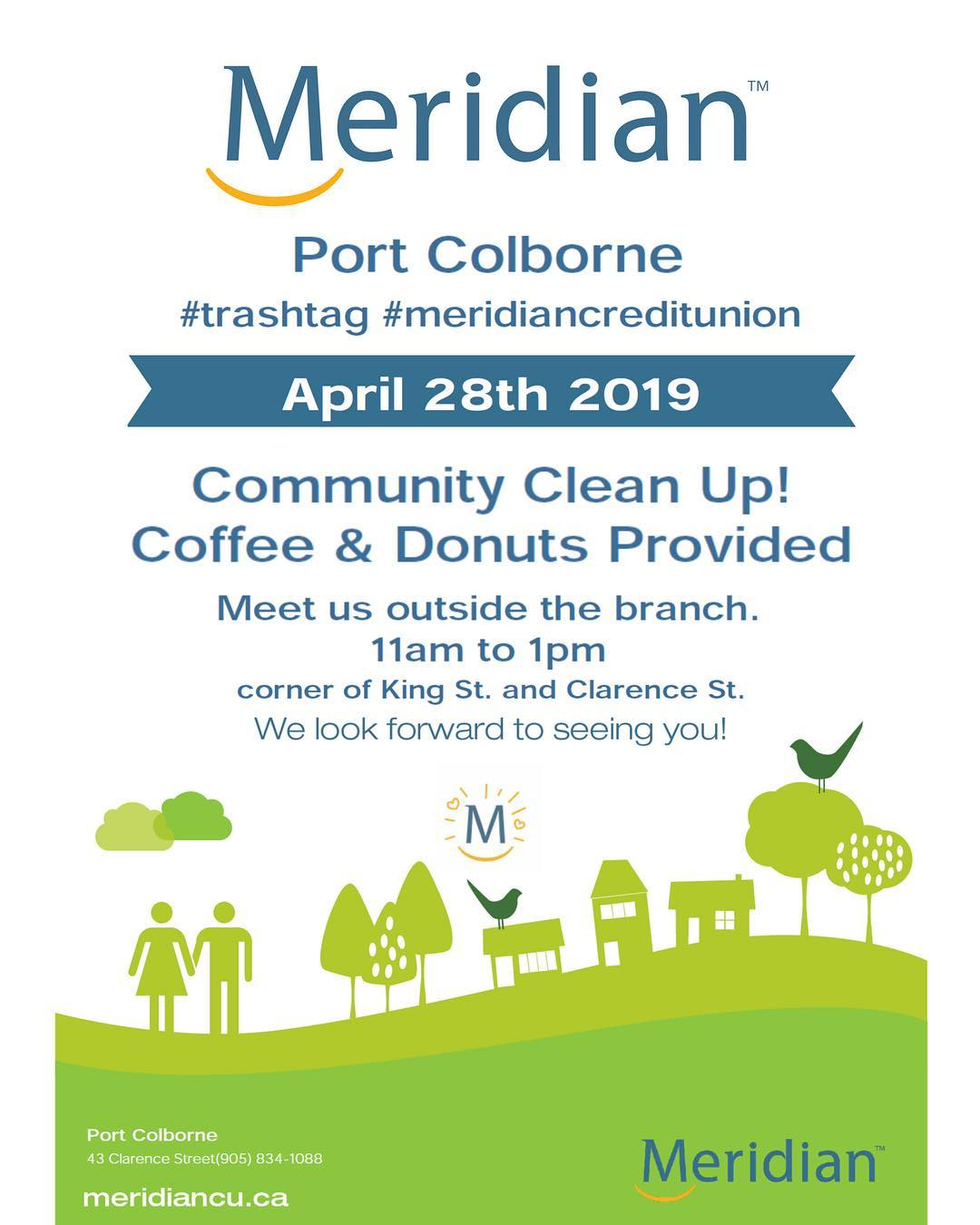 Community Clean Up Poster