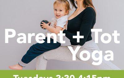 Parent + Tot Yoga